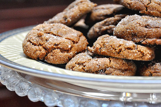 Tasty Kitchen Blog: Cookies for You (Chewy Chocolate Gingerbread Cookies from TK member sundayrain)