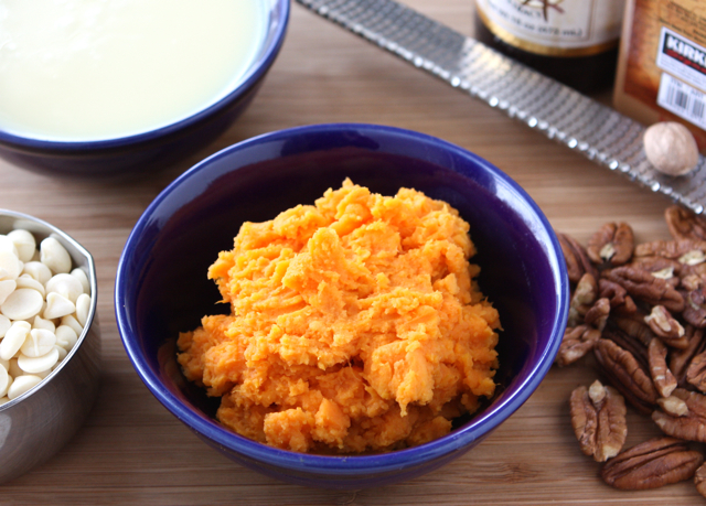 Tasty Kitchen Blog: Sweet Potato Fudge. Guest post by Dara Michalski of Cookin' Canuck, recipe submitted by TK member Lauren of Lauren's Latest.