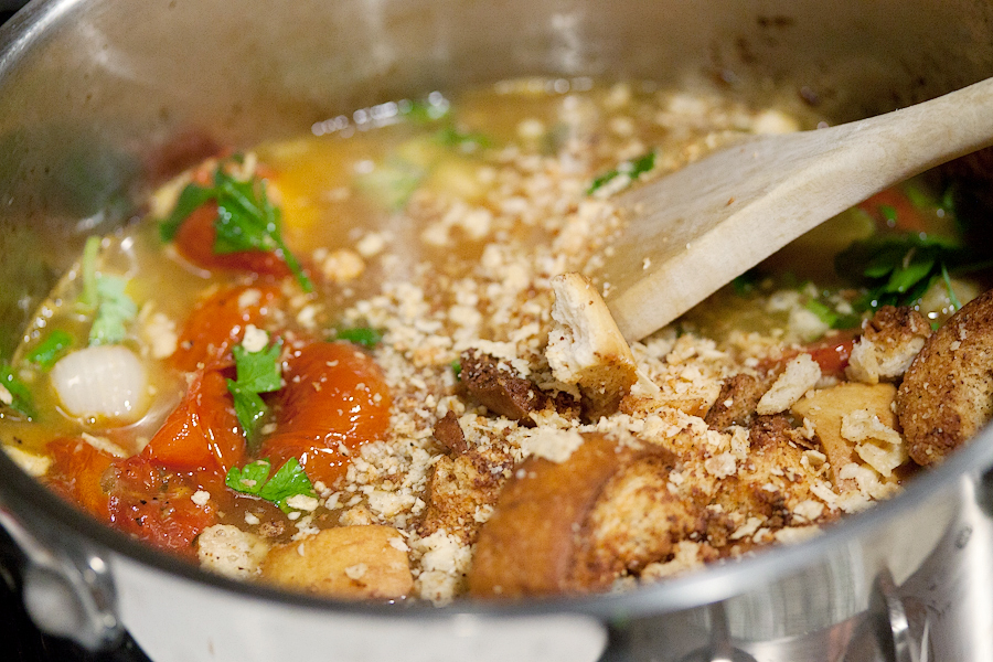 Tasty Kitchen Blog: Fiery Roasted Garlic and Tomato Soup. Guest post by Gaby Dalkin of What's Gaby Cooking, recipe submitted by TK member Ingrid Beer of The Cozy Apron.