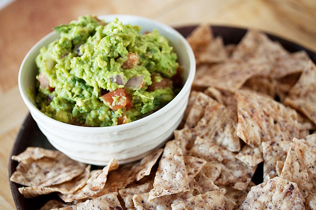 Tasty Kitchen Blog: Grilled Guacamole. Guest post by Gaby Dalkin of What's Gaby Cooking, recipe submitted by TK member Lauren of Lauren's Latest.