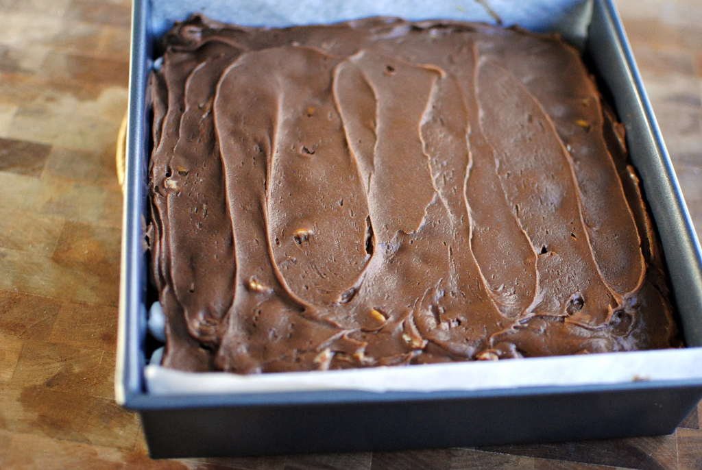 Tasty Kitchen Blog Mississippi Mud Brownies. Guest post by Laurie McNamara of Simply Scratch, recipe submitted by TK member Taylor of Greens and Chocolate.