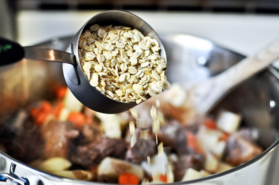 Tasty Kitchen Blog: Beef Barley Soup. Guest post by Jessica Merchant of How Sweet It Is, recipe submitted by TK member Terri of That's Some Good Cookin'.
