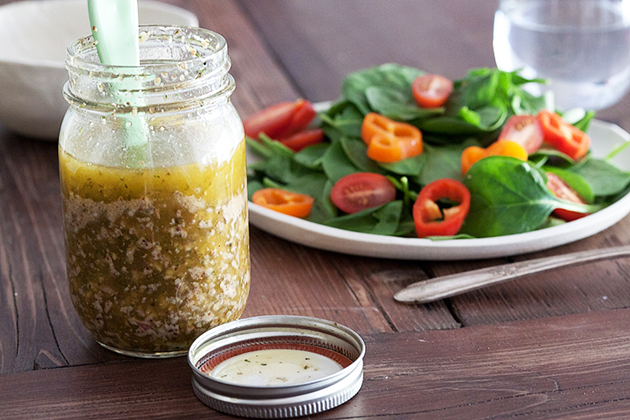 Tasty Kitchen Blog: Herb-Mustard Vinaigrette. Guest post and recipe from What's Gaby Cooking.