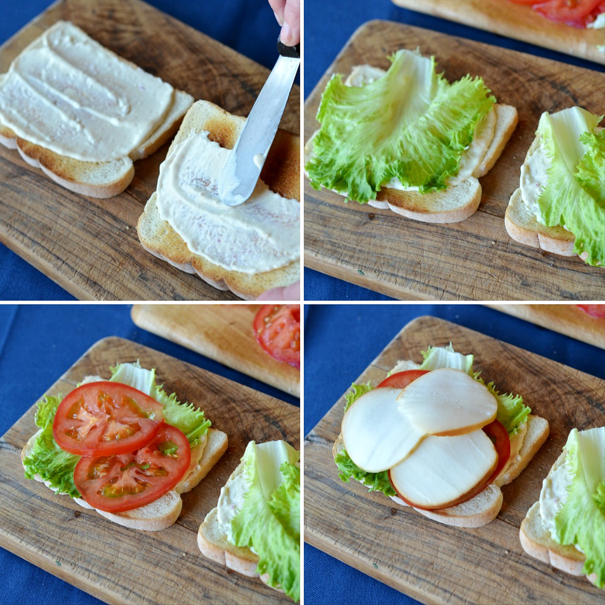 Tasty Kitchen Blog: Meatless BLTs. Guest post by Maggy Keet of Three Many Cooks, recipe by Three Many Cooks.
