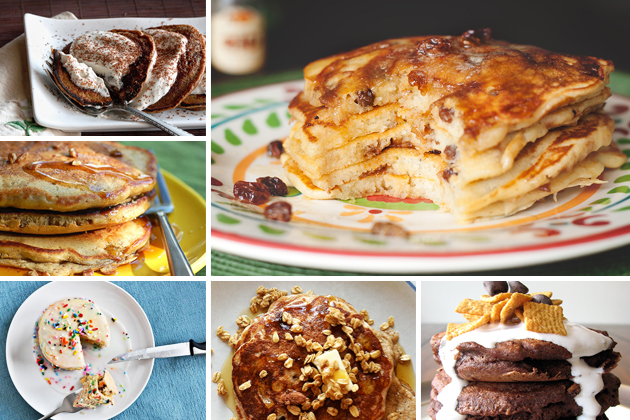 Tasty Kitchen Blog: It's Pancake Day! (Dessert Versions)