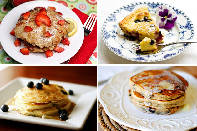 Tasty Kitchen Blog: It's Pancake Day! (Ricotta Pancakes)