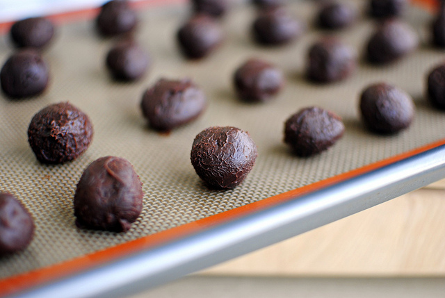 Tasty Kitchen Blog: Mayan Chocolate Truffles. Guest post by Laurie McNamara of Simply Scratch, recipe submitted by TK member Kari of The Craftinomicon.