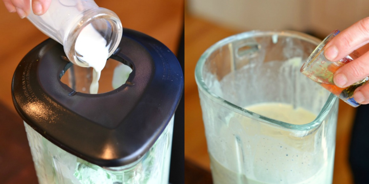 Tasty Kitchen Blog: Shamrock Blizzard. Guest post by Maggy Keet of Three Many Cooks, recipe by Three Many Cooks.