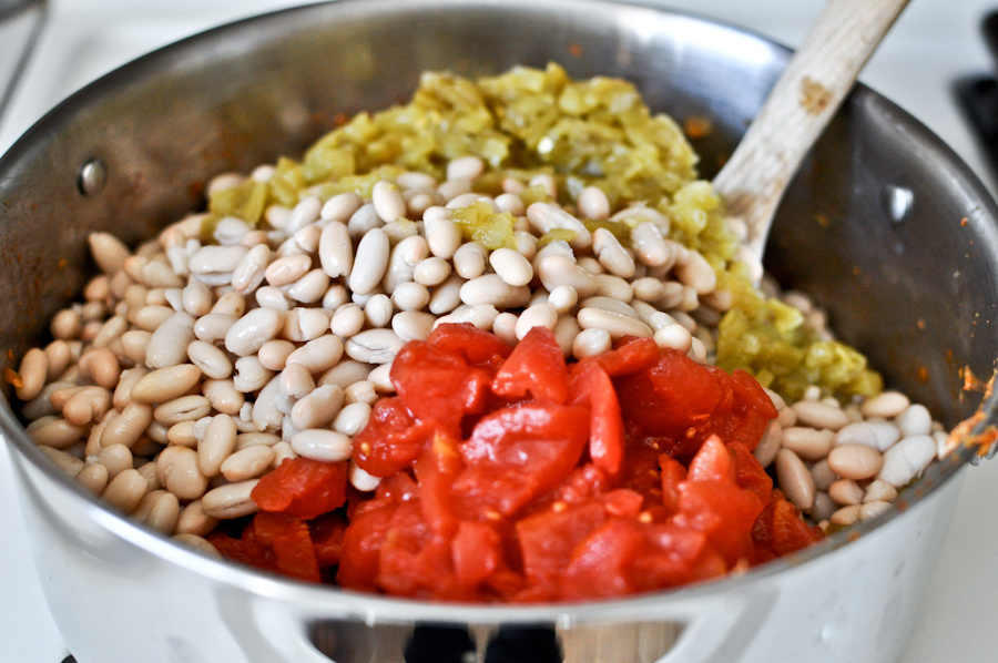 Tasty Kitchen Blog: Smoky White Bean Chicken Chili. Guest post by Jessica Merchant of How Sweet It Is, recipe submitted by TK member Terri of That's Some Good Cookin'.