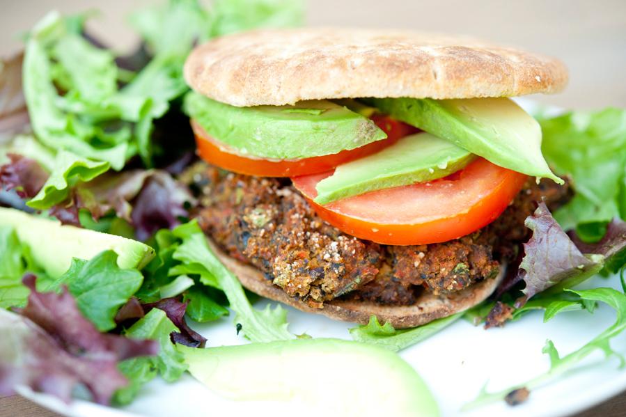 Spicy Black Bean Burger | Tasty Kitchen Blog