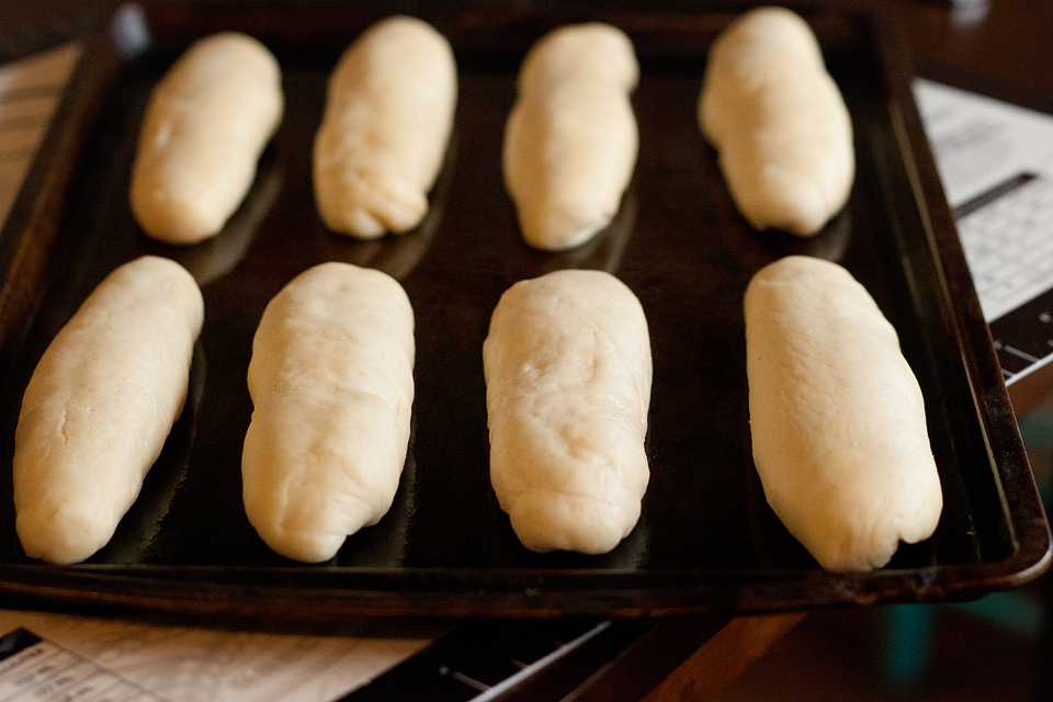 Tasty Kitchen Blog: Homemade Hot Dog Buns. Guest post by Amber Potter of Sprinkled with Flour, recipe submitted by TK member Rebecca of Foodie with Family.