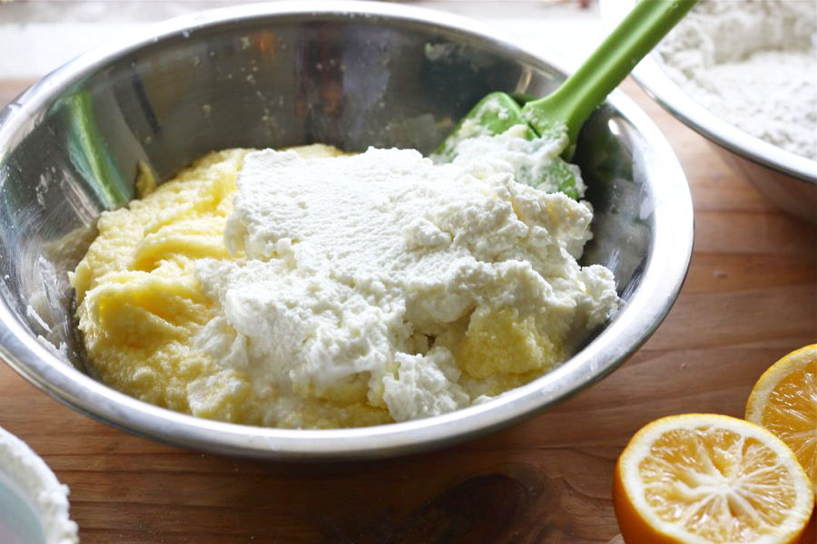 Tasty Kitchen Blog: Meyer Lemon Ricotta Cookies. Guest post by Adrianna Adarme of A Cozy Kitchen, recipe submitted by TK member Kay Heritage of The Church Cook.