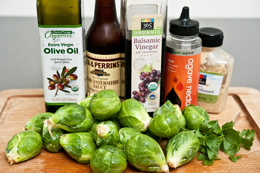Tasty Kitchen Blog: Zesty Brussels Sprouts. Guest post by Georgia Pellegrini, recipe submitted by TK member Sally of Spontaneous Hausfrau.