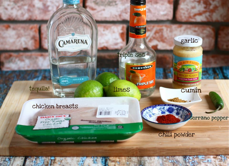 Tasty Kitchen Blog: Spicy Tequila Lime Chicken. Guest post by Jenna Weber of Eat, Live, Run; recipe submitted by TK member Kimberly of Eats, Sweets, and Treats!