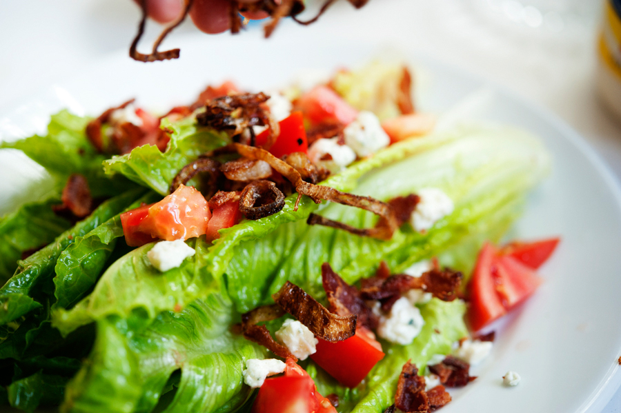 Tasty Kitchen Blog: Wedge Salad. Guest post by Georgia Pellegrini, recipe submitted by TK member Lindsay of Perfecting the Pairing.