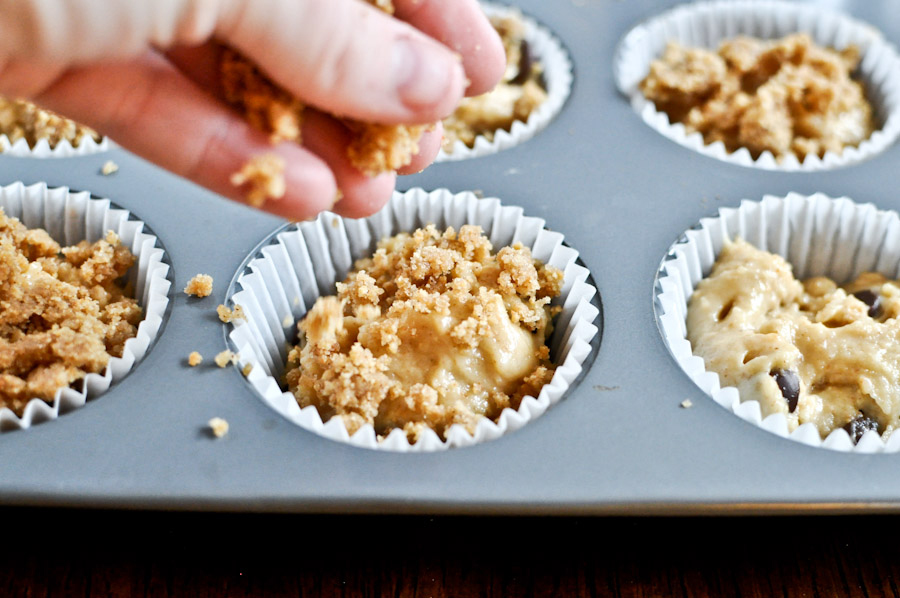 Tasty Kitchen Blog: Graham Cracker Chocolate Chip Muffins. Guest post by Jessica Merchant of How Sweet It Is, recipe submitted by TK member Michelle of Michelle's Tasty Creations.