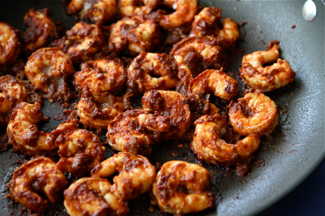 Tasty Kitchen Blog: Chipotle Shrimp Salad Bowls. Guest post by Dara Michalski of Cookin' Canuck, recipe submitted by Bev Weidner of Bev Cooks.