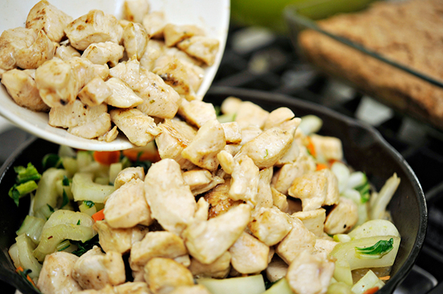 Tasty Kitchen Blog: Authentic Kung Pao Chicken. Guest post by Georgia Pellegrini, recipe submitted by TK member Becky of The Vintage Mixer.