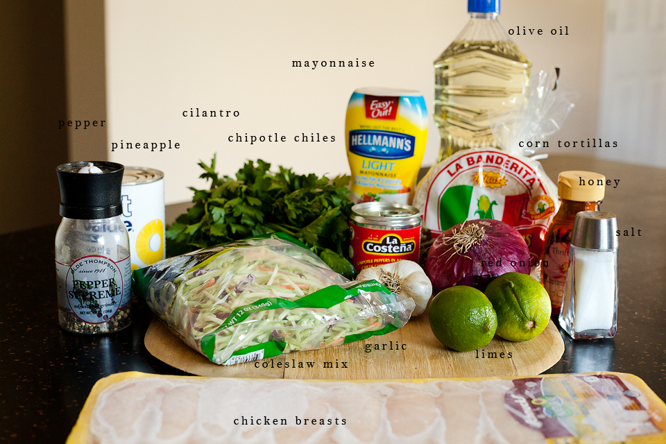 Adobo-Marinated Chicken Tacos Recipes — Dishmaps