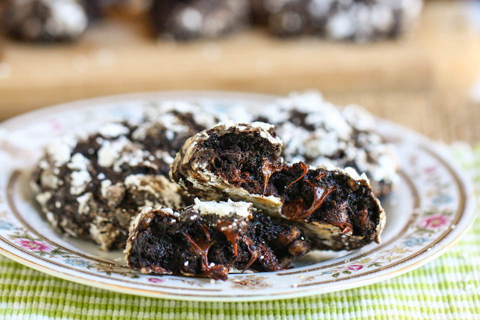 Tasty Kitchen Blog: Chocolate Zucchini Cookies. Guest post by Jenna Weber of Eat, Live, Run; recipe submmitted by TK member Julia of The Roasted Root.