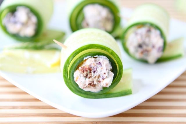 Tasty Kitchen Blog: Cucumber Feta Rolls. Guest post by Maria Lichty of Two Peas and Their Pod, recipe submitted by TK member Traci of Lotta Madness.