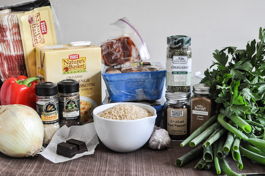 Tasty Kitchen Blog: Mole Rice. Guest post by Jessica Merchant of How Sweet It Is, recipe submitted by Andrea of Recipes for Divine Living.