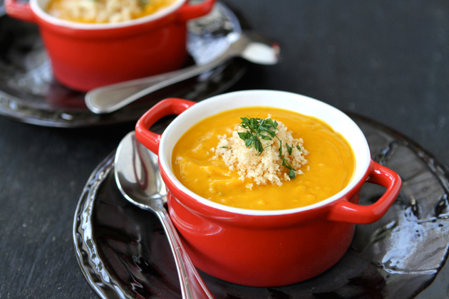 Tasty Kitchen Blog: Roasted Sweet Potato Quinoa Soup. Guest post by Dara Michalski of Cookin' Canuck, recipe submitted by TK member Tara Noland of Noshing with The Nolands.