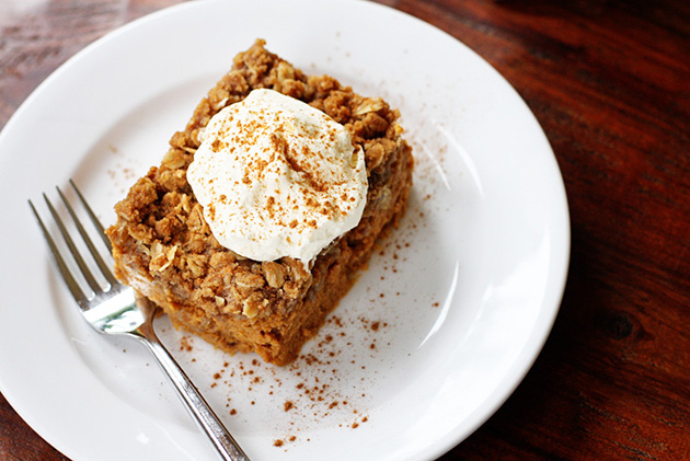 Tasty Kitchen Blog: Pumpkin Crisp by Sweet Anna's
