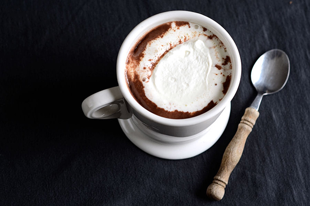 Tasty Kitchen Blog: Homemade Hot Chocolate. Guest post and photo by Erica Kastner of Cooking for Seven.