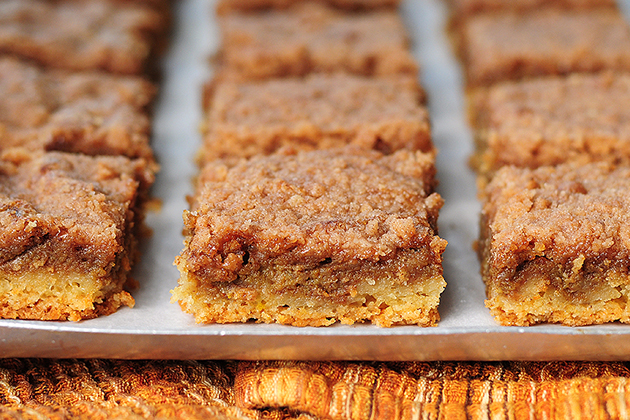 Tasty Kitchen Blog: Pumpkin Pie Bars. Guest post by Amy Johnson of She Wears Many Hats, recipe submitted by TK member Sharon of Cheesy Pennies.
