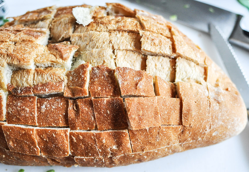 Tasty Kitchen Blog: Cheddar Tailgating Bread. Guest post by Jessica Merchant of How Sweet It Is, recipe submitted by TK member Rebecca of Foodie with Family.