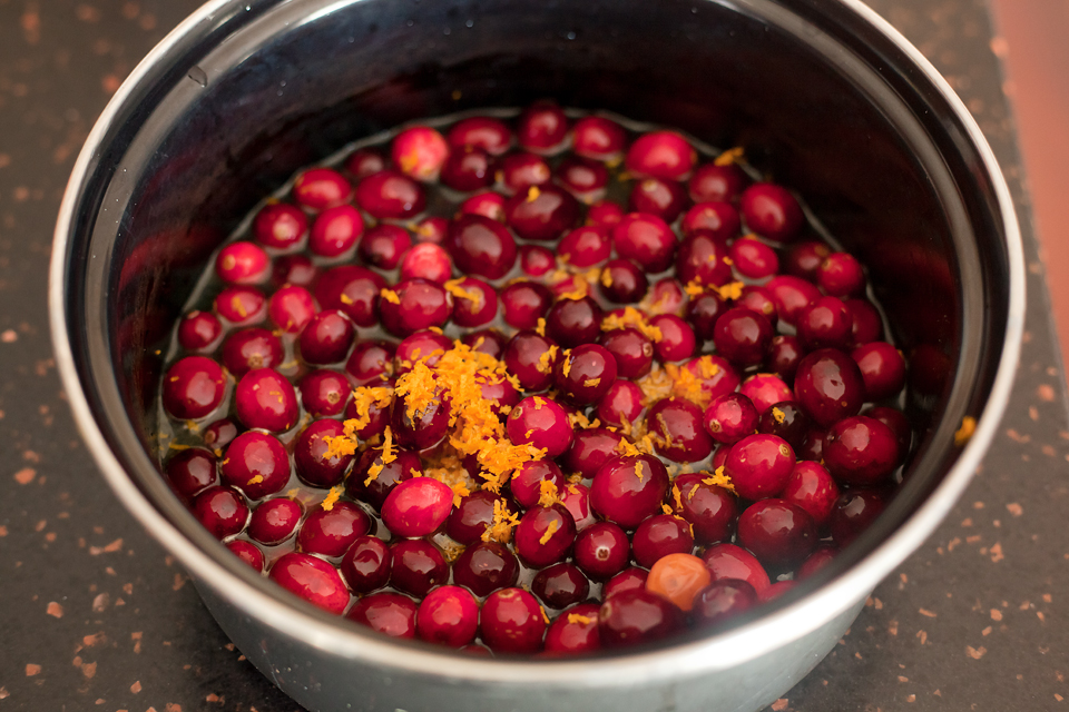 Tasty Kitchen Blog: Cranberry Orange Bars, guest post by Amber Potter of Sprinkled with Flour, recipe submitted by Stephanie of Eat. Drink. Love.