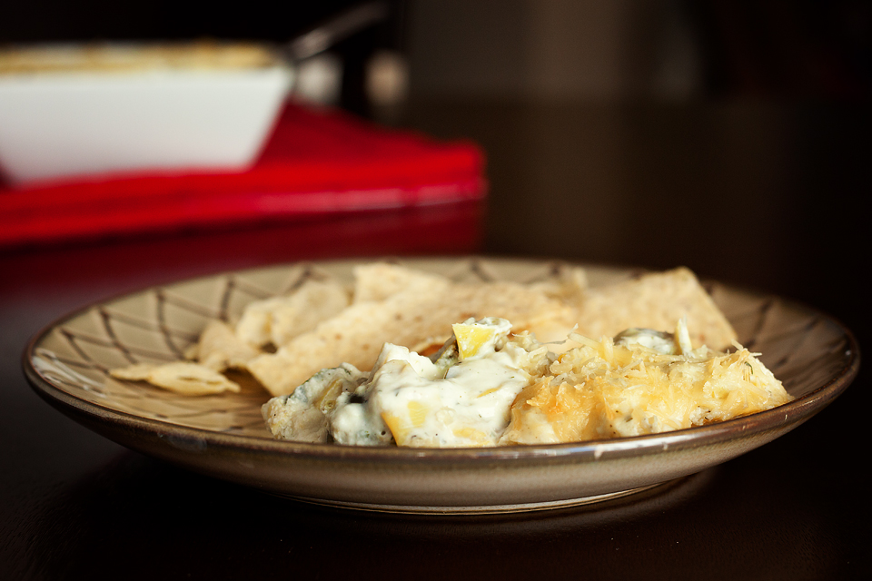Tasty Kitchen Blog: Artichoke and Jalapeño Ranch Dip. Guest post by Amber Potter of Sprinkled with Flour, recipe submitted by TK member Jen of Peanut Butter & Peppers.