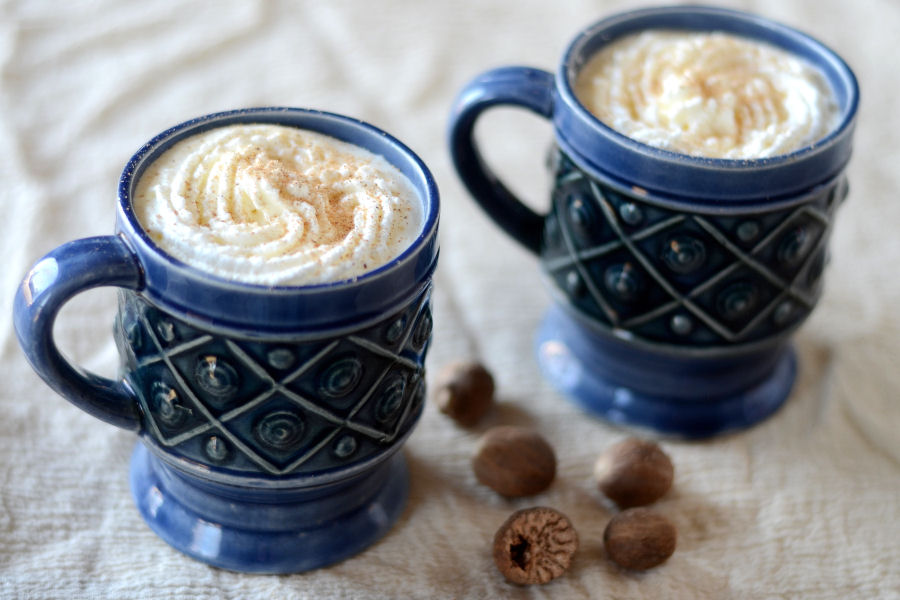 Tasty Kitchen Blog: Homemade Eggnog. Guest post and recipe submitted by Erica Kastner of Cooking for Seven.