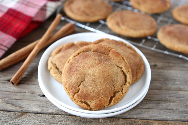 Brown Butter Snickerdoodle Cookies | Tasty Kitchen Blog