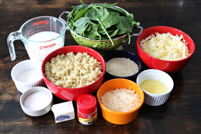 Tasty Kitchen Blog: Quinoa Spinach Mac 'n Cheese. Guest post by Maria Lichty of Two Peas and Their Pod, recipe submitted by TK member Carrie Burrill of Bakeaholic Mama.