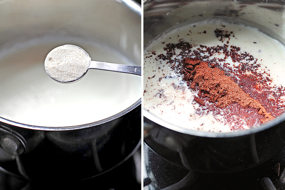 Tasty Kitchen Blog: The Ultimate Mexican Hot Chocolate. Guest post by Amy Johnson of She Wears Many Hats, recipe submitted by TK member Sharon of Cheesy Pennies.