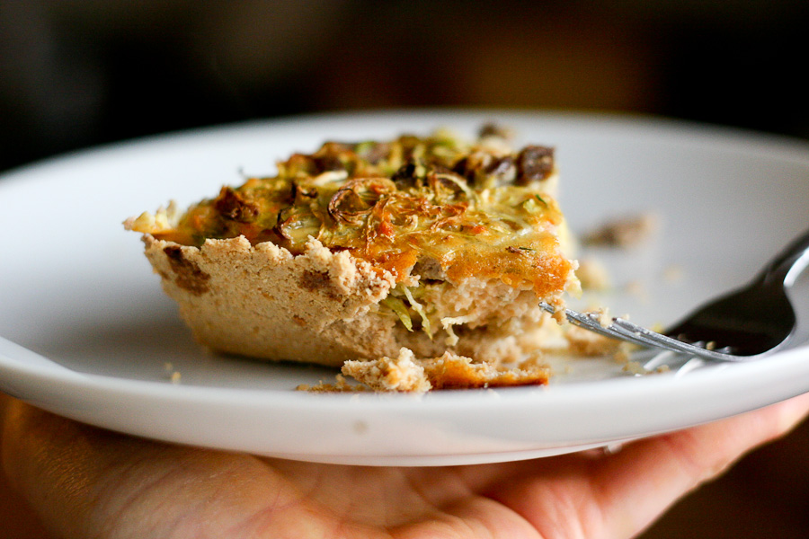 Tasty Kitchen Blog: Oat-Almond Pie Crust. Guest post by Natalie Perry of Perry's Plate, recipe submitted by TK member Katy (girlgonecountry) of The Suburban Girl Gone Country.