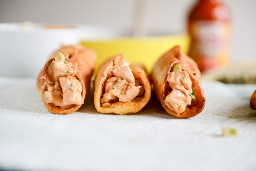 Tasty Kitchen Blog: Buffalo Chicken Cannoli. Guest post by Jessica Merchant of How Sweet It Is, recipe submitted by TK member Sandy of Everyday Southwest.