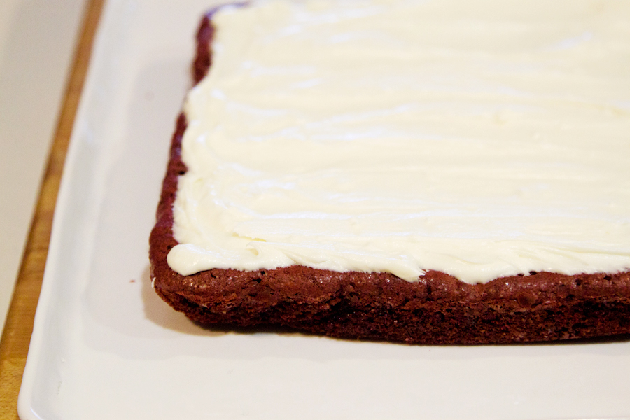 Tasty Kitchen Blog: Red Velvet Brownies. Guest post by Gaby Dalkin of What's Gaby Cooking, recipe submitted by TK member Jessica of How Sweet It Is.