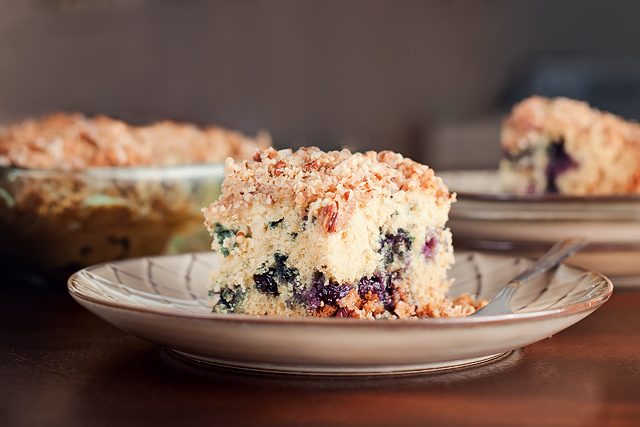 Tasty Kitchen Blog: Blueberry Kuchen. Guest post by Amber Potter of Sprinkled with Flour, recipe submitted by TK member Deborah of Country At Heart Recipe.