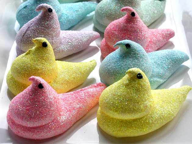 Tasty Kitchen Blog: Easter Cuteness. Glamour Peeps 2.0 from TK member Meghan of Buttercream Blondie.