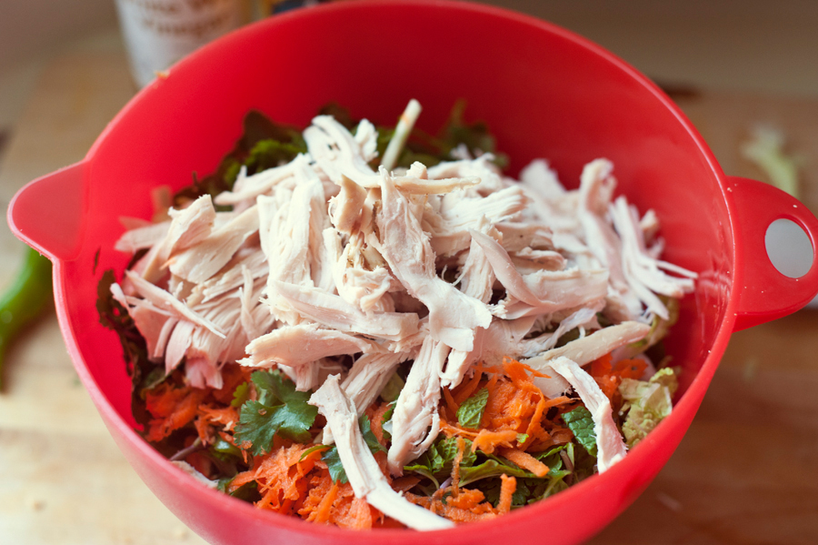 Tasty Kitchen Blog: Vietnamese Chicken Salad. Guest post by Georgia Pellegrini, recipe submitted by TK member lilkim12161 of Simple Food Everyday.