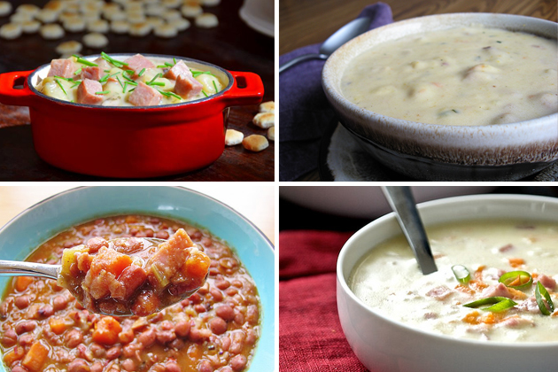 Tasty Kitchen Blog: Leftover Ham (Soups)