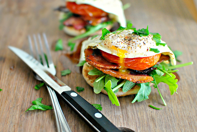Tasty Kitchen Blog: Breakfast BLT. Guest post by Guest post by Laurie McNamara of Simply Scratch, recipe submitted by TK member Riley of My Daily Morsel.