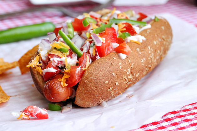 Tasty Kitchen Blog: The Theme is Hot Dogs! (Jalapeno Chili Dog by Nancy of Coupon Clipping Cook)