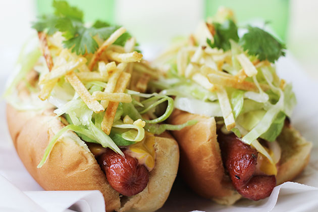 Tasty Kitchen Blog: The Theme is Hot Dogs! (Perro Caliente, Colombian Hot Dog by Michelle of A Recipe Junkie)