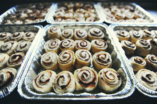 Tasty Kitchen Blog Kitchen Talk: Food Gifts (Pioneer Woman's Cinnamon Rolls)