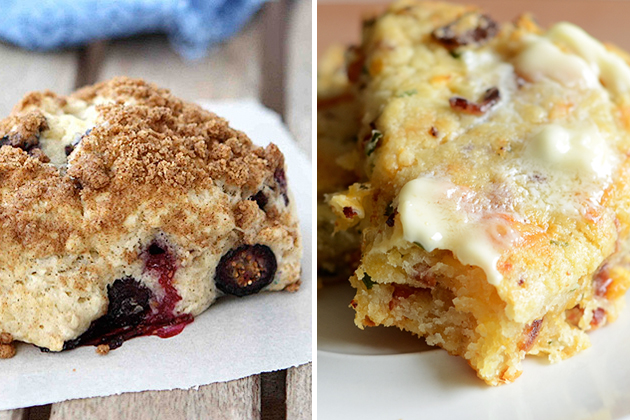 Tasty Kitchen Blog: Holiday Breakfast (Scones)