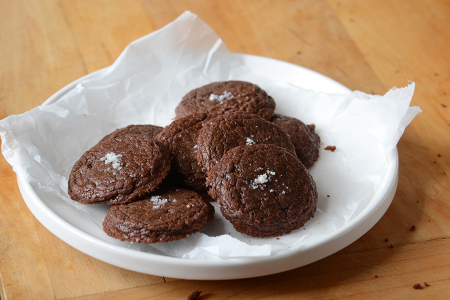 Tasty Kitchen Blog: Gluten Free Peanut Butter Cookies and Easy Nutella Cookies with Sea Salt